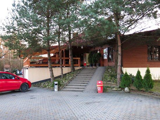 Gdow, Poland: Wejście do Szałasu