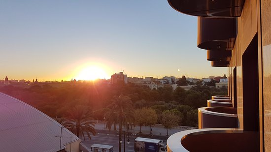 Hotel Turia: The view from the room was nice