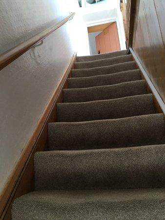 Sedgemoor Heights: steep stairs
