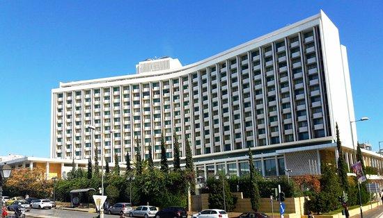 Hilton Athens Hotel Outside View