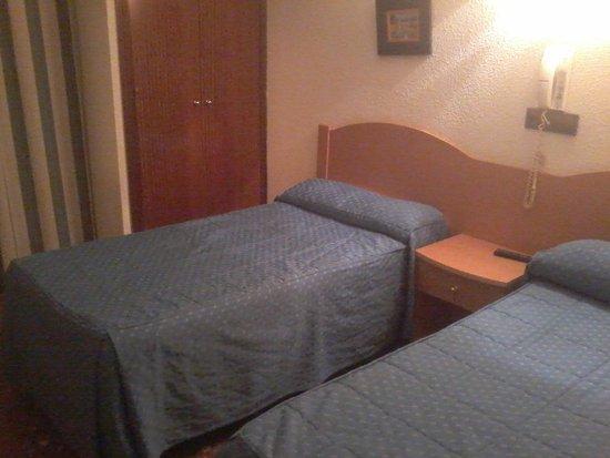 Hostal Goyma: foto ruim...o quarto é melhor...srsss