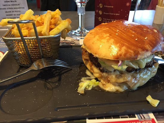 Isneauville, France : Burger Ch'ti