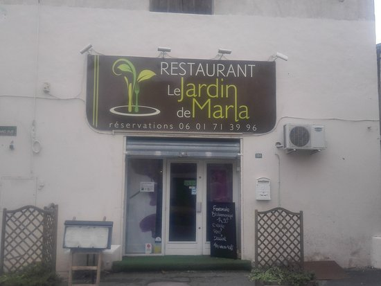 Le Jardin de Marla : Great place for a lunch with friends.