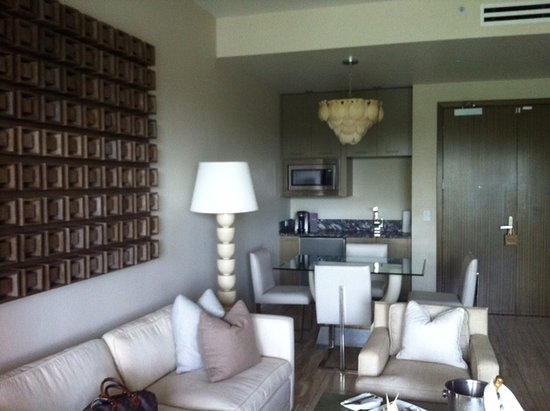 West End Village, Anguilla: View of living area in suite