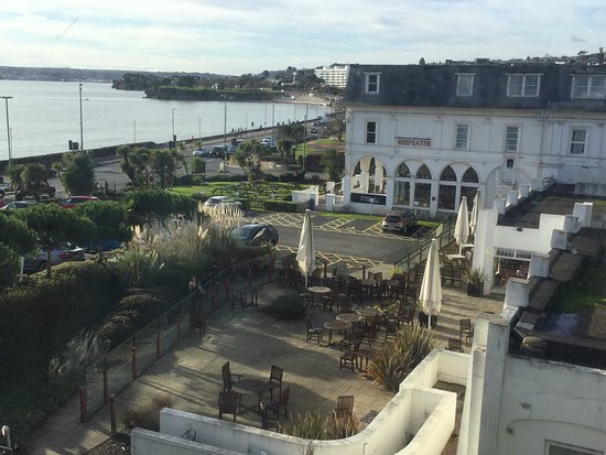 Premier Inn Torquay Hotel: View from room 614 good but room is a long way from reception.