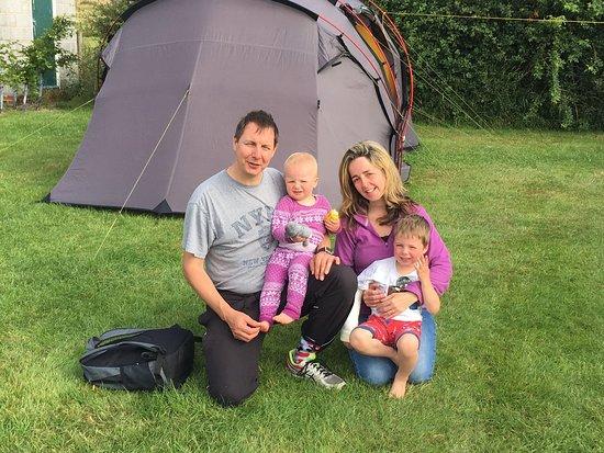 Banwell, UK: Christopher Family at Stonebridge Farm