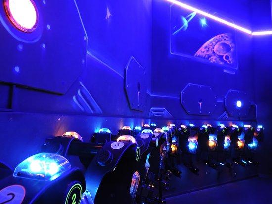 LaserMaxx : Le sas du laser