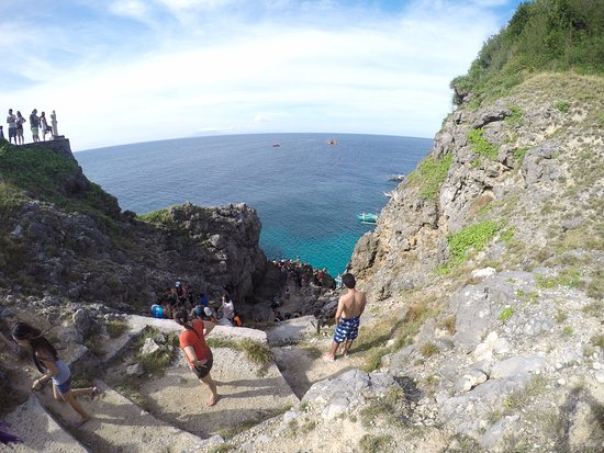 Nasugbu, Filippijnen: Cliff Diving Fortune Island
