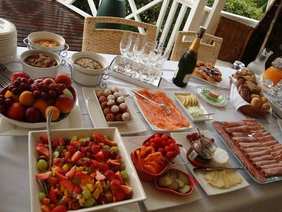 Berrydel Gourmet Guest House: breakfast