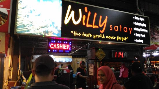 satay willy at ramal food junction