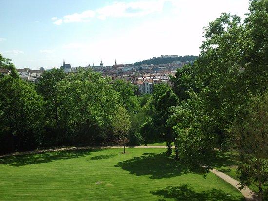 Brno, Tjeckien: Widok z okna