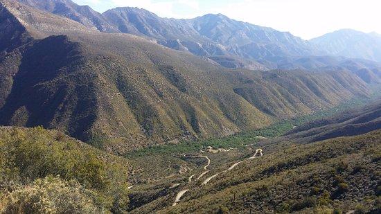 Prince Albert, Sudáfrica: View of valley