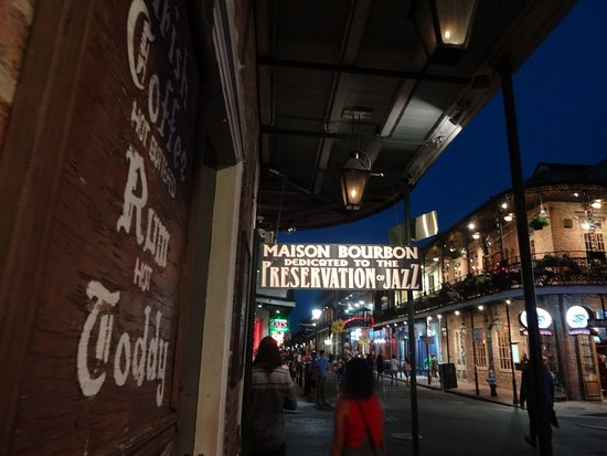 Outside The Front Door Picture Of Maison Bourbon Jazz Club