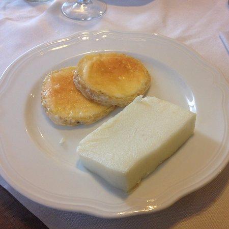Soligo, Italia: polenta e formaggio