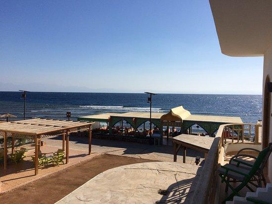 Shams Hotel: wakker worden en dan lekker op je balkonnetje