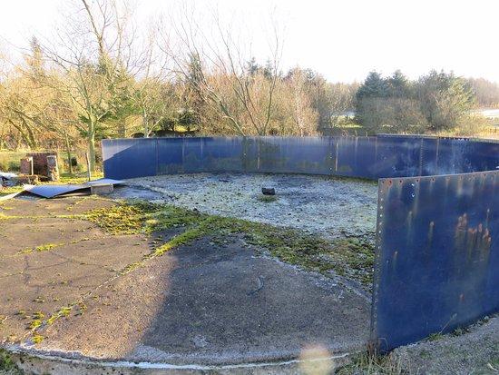 Kinross, UK: the old fish tanks