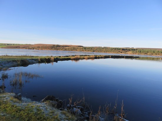 Kinross, UK: the breakwater