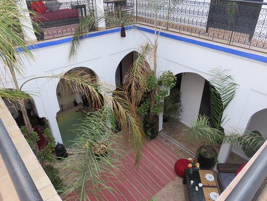 Riad Faiza & Spa Marrakech: Patio intèrieur