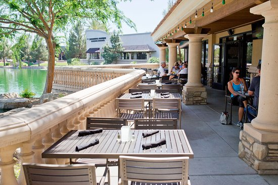 lakeside patio picture of stone vine urban italian chandler
