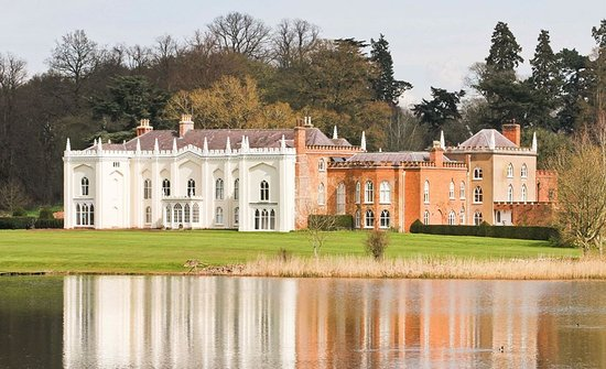 The North Wing at Combermere Abbey