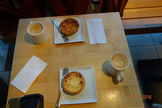 Patisserie Lebeau : Rice Pudding, Quiche Lorraine