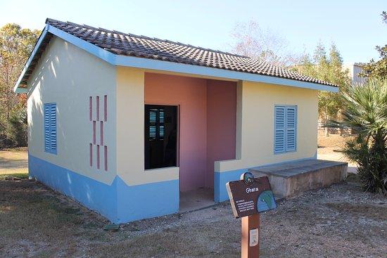 Americus, GA: The colorful Ghana house. Cute!