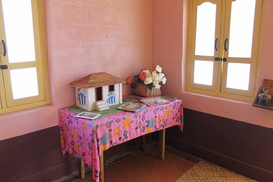 Americus, GA: Decorations inside the India house.