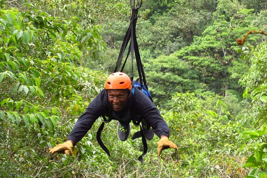 San Luis, Costa Rica: Superman was an adrenaline junky dream