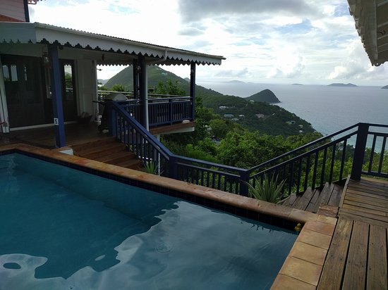 West End, Tortola: The View from the Pool