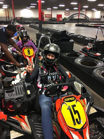 Go Kart Racing Houston >> Ready For The Track Picture Of Track 21 Indoor Karting Houston