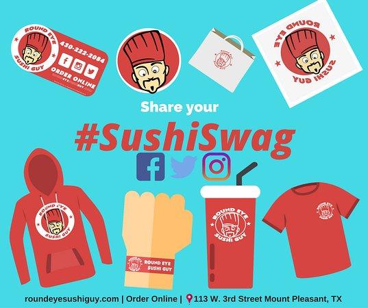Mount Pleasant, TX: sushi swag