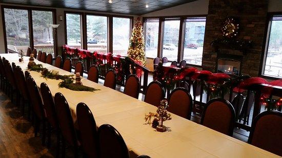 Bigfork, มอนแทนา: Fireside Dining Room