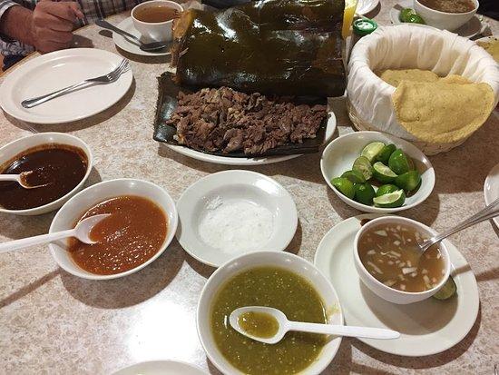 Barbacoa Santiago : Comida boa