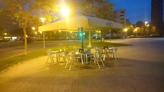 Terraza Picture Of Kibo Cafe Barcelona Tripadvisor