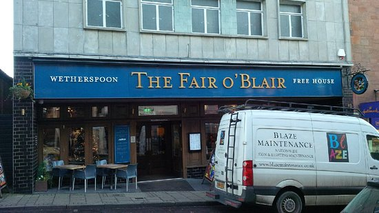 The Fair O'Blair : From the outside