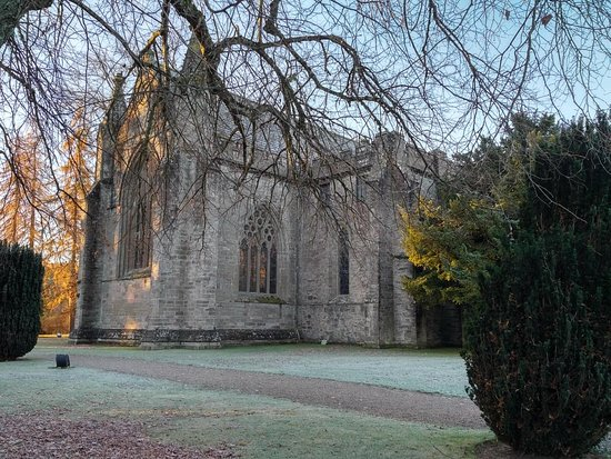 Dunkeld Cathedral: In the morning sunlight