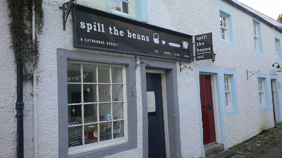 Spill The Beans Cafe: From the outside