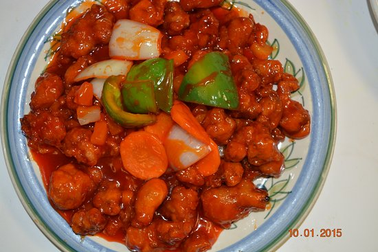 Rothesay, แคนาดา: Sweet & Sour Pork - Great choice. The flavour only China Coast!