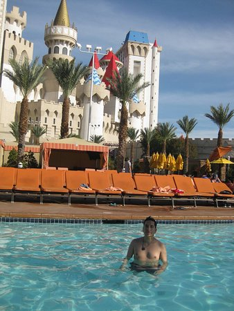 The pool was ok Picture of Excalibur Hotel Casino Las Vegas