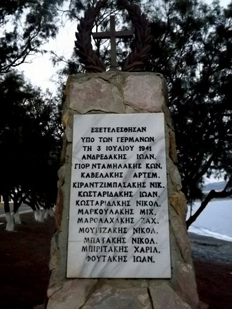 World War II Civilian Memorial - Tavrontis-bild