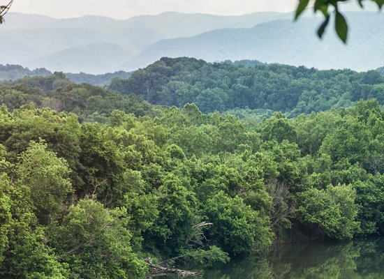Greeneville, TN: Riverview from the cabins