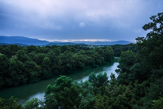 Greeneville, TN: View from the Log Cabin