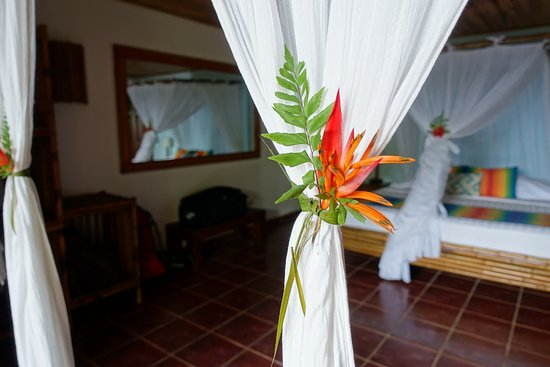 El Remanso Lodge: The rooms are tastefully decorated.