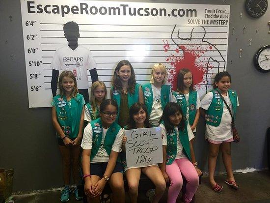 escape room tucson girl scouts   picture of escape room