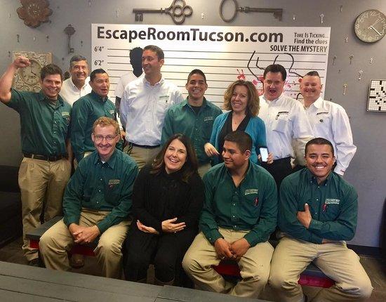 Escape Room Excel Center