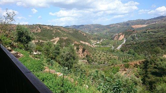 Ομαλός, Ελλάδα: Botanischer Garten - Ausblick auf die Rückreise