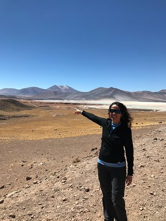 Hotel Cumbres San Pedro de Atacama: the guide pointing the way to Bolivia