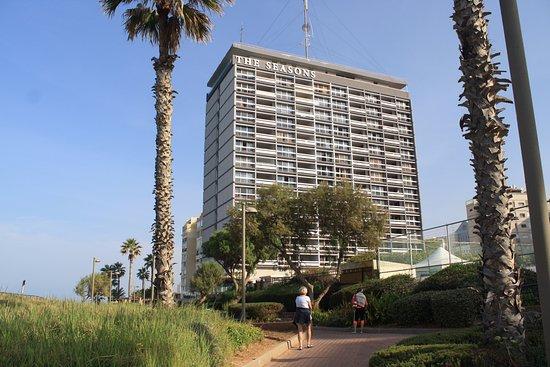 Seasons Netanya Hotel: petite promenade aux abords de l'hotel
