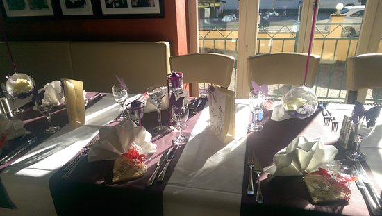 Hotel La Strada : Hochzeitstafel