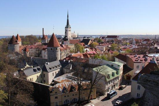 tallinn upper old town tallinn estonia picture of. Black Bedroom Furniture Sets. Home Design Ideas